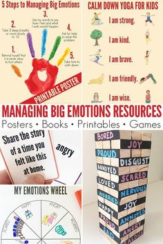 Awesome library of Managing Big Emotions Resources for Parents and Teachers