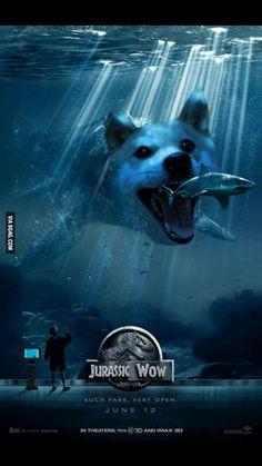 Jurassic doge or wow - 9GAG