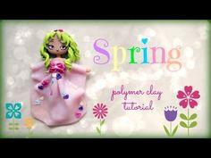 ▶ 4 Seasons - Spring - Polymer Clay Tutorial ❀ Doll Chibi