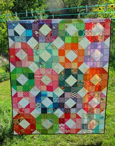 do.Good stitches August HAVEN circle by emileemasson, via Flickr. I love the scrapy.