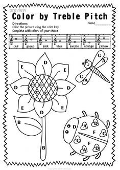 482 best Music: Worksheets images on Pinterest in 2018