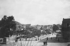 Η πλατεία Κυψέλης ή πλατεία Κανάρη το 1950