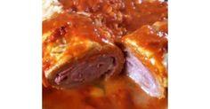 Gerollte Ofenschnitzel Toskana