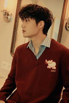 Exo Kai, Kyungsoo, One And Only, Bangs, Husband, Wallpaper, Bear, Kpop, Instagram