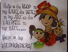 Afrikaans Quotes, Teaching Time, Pallet Art, Good Morning Wishes, Life Skills, Under The Sea, Vintage Sewing, Winnie The Pooh, Projects To Try