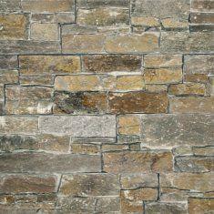 Naturstein Verblendstein Wallstone Oxford - Wandverkleidung mit Interlog Paneelen aus Bruchsteinen