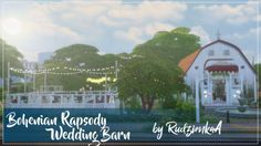 Bohemian Rapsody Wedding Barn I love to build... - Rudzienka Simblr
