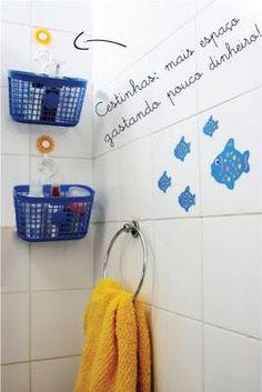 Como dar um up em um banheiro caidinho de um apartamento alugado