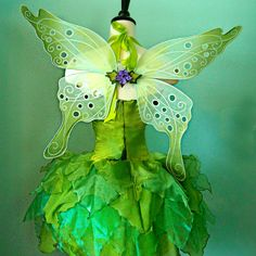 Back of fairy costume