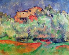 The House at Bellevue Paul Cezanne - circa 1892