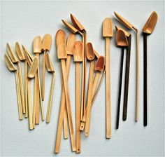 3-minute bamboo spoons... design/made michael penck