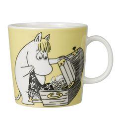 Moomin Mugs. Arabia Finland with beloved Finnish characters Nordic Home, Scandinavian Home, Moomin Mugs, Troll, Tove Jansson, Cute Mugs, Marimekko, My Collection, Just In Case