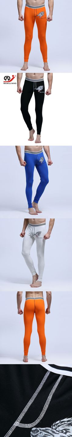 WJ Compression Pants Sweatpants Pants Men Pantalones Hombre Cotton Men Sexy Pants Leggings Compression Men