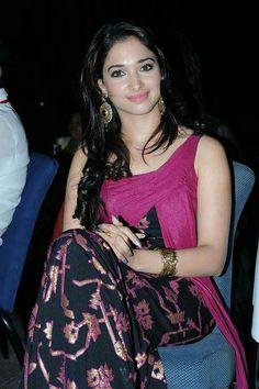 South Indian actress Tamanna with Pawan Kalyan movie images South Actress, South Indian Actress, Beautiful Indian Actress, Beautiful Actresses, Men's Fashion, Fashion Week, Beautiful Saree, Beautiful Gorgeous, Indian Ethnic