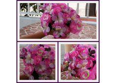 Ramos de flores con pañales y ropita de bebe http://pequenosdeseoss.blogspot.com.es/