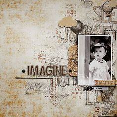 Imagine - Cartographer collection - CHA 2014 - DT Prima - by Nine