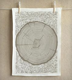 Stump Tea Towel