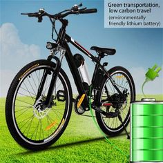 """Cheap electric bike, Buy Quality powered bicycle directly from China electric powered bicycle Suppliers: 25 """" Electric Bike Aluminum Alloy EBike 21 Speed Mountain Bike City Road Electric Power Bicycle Disc brake bike Bicicleta Mountain Biking, 26 Inch Mountain Bike, Folding Mountain Bike, Electric Mountain Bike, Mountain Bicycle, Mountain City, Cheap Electric Bike, Electric Bike Review, Best Electric Bikes"""