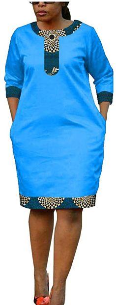 Latest African Fashion Dresses, African Dresses For Women, African Print Fashion, African Attire, Ankara Dress Designs, African Print Dress Designs, Fancy Blouse Designs, African Fashion Traditional, Kitenge