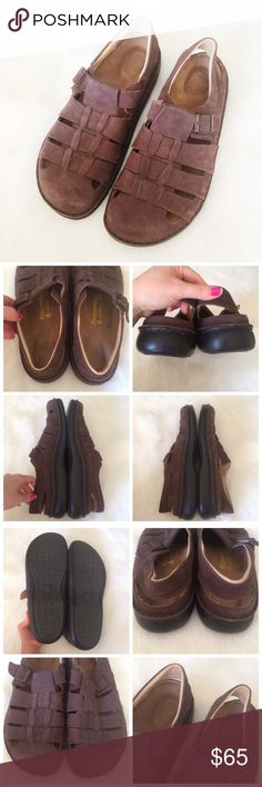 Footprints Sandals These sandals are in great condition! They have only been worn a couple times. The bottoms of the sandals are ~12.5in. Made in Portugal.  ✅Reasonable offers welcome! ✅BUNDLE DISCOUNTS! 🚫No trades/paypal/other apps. 🚫No lowball offers. Footprints Shoes Sandals & Flip-Flops