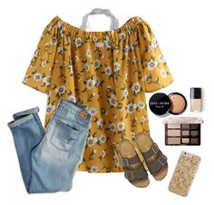 """""""blossoms"""" by gabyleoni on Polyvore featuring American Eagle Outfitters, Birkenstock, Bobbi Brown Cosmetics, Too Faced Cosmetics and Kendra Scott"""