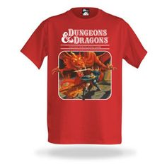 Very cool retro Dungeons and Dragons t-shirt