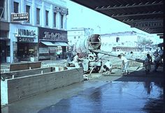 Mall Construction (1962) by 47specialdeluxe, via Flickr Pomona California, California History, San Gabriel Valley, Mall, The Good Old Days, Back In The Day, Beautiful Landscapes, Construction, Vintage Photos