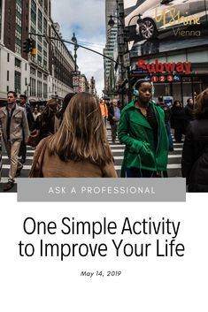 Do you want to improve your life? Here is one simple activity to take that step! Jon Kabat Zinn, Walking Meditation, What Is Something, Public Administration, Clinical Psychologist, The Next Step, Heart And Mind, Your Life, Vienna