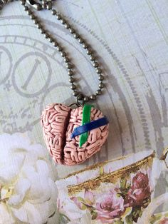 Steampunk Intracranial Hypertension Heart Brain by WendyLayne