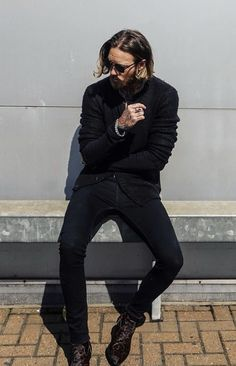 Billy Huxley, Campaign, Black Jeans, Normcore, Menswear, Hipster, Pants, Instagram, Christian