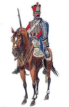 Formado en 1794 como 12º de Húsares, a partir de los Husares de la Montaña, en 1803 es reconvertido en el 30º de Dragones, volviendo a ser el 12º de Húsares en 1813 con los efectivos del 9º bis de Húsares que habnía combatido en España.  El más famoso de sus coroneles es Fournier-Sarloveze.