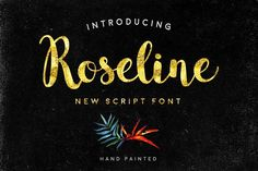 Roseline by doffdog on @creativemarket
