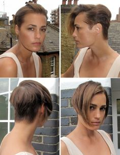 Image result for yasmin le bon short hair