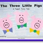 THREE LITTLE PIGS-Who doesn't like to huff and puff?  This is one of our students' favorite books!  This KinderLit book gives the children the opportunity to retell ...