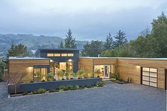 Modern dog trot house home plans dog trot or breeze way for Dogtrot modular homes