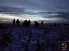 Early morning on winter exercise /brzké ráno na zimním cvičení.