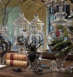 All Hallows Design: A Halloween Apothecary