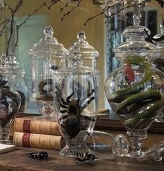 All Hallows Design: A Halloween Apothecary