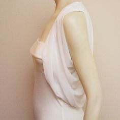 Gatsby Chiffon Wedding Shrug Bridal Shrug Bolero Shrug by boubo
