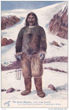 Cape York Native, Arctic Highlander, North GREENLAND , 00-10s TUCK