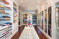 Boutique-style // closet design