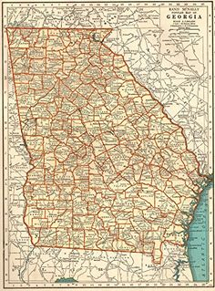 S augustus mitchell map of geogia 1846 from the website s augustus mitchell map of geogia 1846 from the website historical atlas of georgia counties which compilation of maps shows the evolution o gumiabroncs Image collections