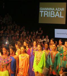Giannina Azar Dominicana Moda 2013