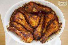 zlote-palki-z-kurczaka-przepis-z-piekarnika-2 Chicken Wings, Turkey, Meat, Impreza, Food, Recipes, Turkey Country, Essen, Eten