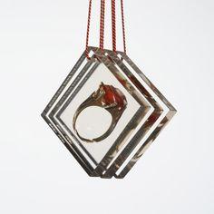 "Kim Buck, ""Præparat"", 2007 #smykker #jewelry #danishdesign"