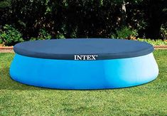 Intex X Easy Set Pool Set with Filter Pump, Ladder, Ground Cloth & Pool Cover Above Ground Pool Liners, Best Above Ground Pool, Above Ground Swimming Pools, In Ground Pools, Installing Above Ground Pool, Pool Pillow, Easy Set Pools, Solar Cover, Little Pool