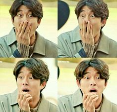 His face tho! Asian Actors, Korean Actors, Korean Dramas, Goblin The Lonely And Great God, Goblin Korean Drama, Goblin Gong Yoo, Goblin Kdrama, Kwon Hyuk, Yoo Gong