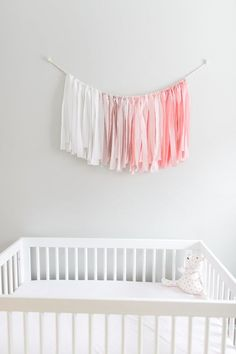 A Pretty Pink Flamingo Nursery for Baby Nora (Style Me Pretty Living) Flamingo Nursery, Tropical Nursery, Nursery Themes, Nursery Decor, Nursery Ideas, Bedroom Ideas, Bedroom Decor, Style Me Pretty Living, Girl Birthday Themes
