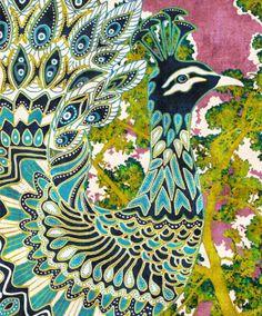 Blue-Peacock- Cozamia-Art