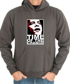 Time Of Change - Obama Hoodie